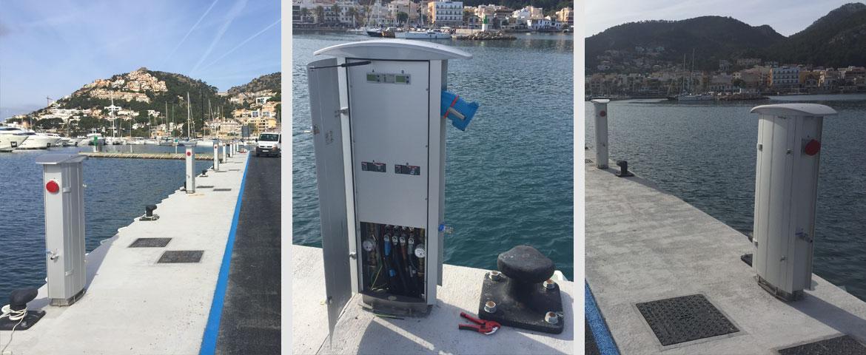 Ampliación del dique nº 2 del Club de Vela Puerto de Andratx